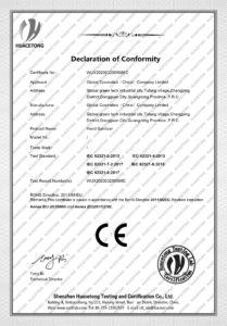 高宝CE certificate2 209x300 - Hand Wash